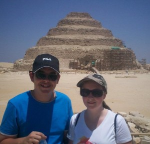 Day Tour to Pyramids, Memphis and Sakkara from Alexandria Port